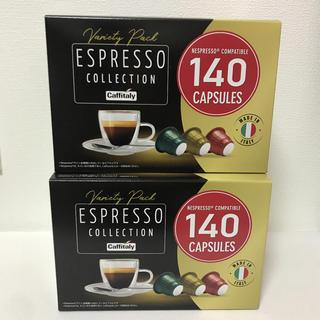 コストコ(コストコ)のコストコ カフィタリー ネスプレッソ 互換カプセル 140個×2箱 計280個(コーヒー)
