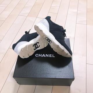 シャネル(CHANEL)のシャネル  スニーカー  メンズ 正規品(スニーカー)