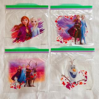 アナトユキノジョオウ(アナと雪の女王)の新品 USA アナと雪の女王2 ジップロック アナユキ2 4枚セット(キャラクターグッズ)