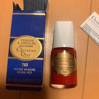 クリスチャンディオール(Christian Dior)のクリスチャン・ディオール ネイル 763(マニキュア)