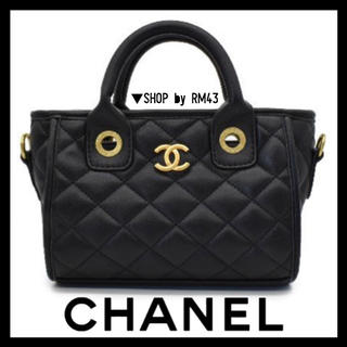 CHANEL - 【CHANEL】チェーンハンドバッグ
