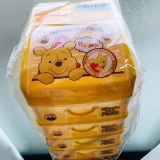 ディズニー(Disney)の【時間限定値下げ】ディズニー 5段収納BOX プーさん 収納(ケース/ボックス)