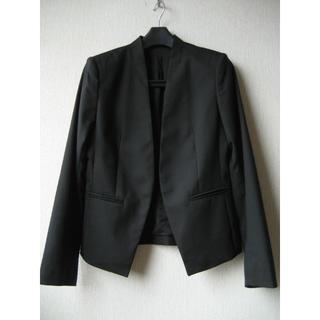 theory - セオリー LANAI ノーカラージャケット サイズ2 ブラック