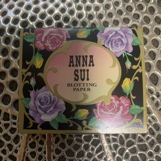 アナスイ(ANNA SUI)のANNA SUI⭐️油取り紙⭐️新品未使用(あぶらとり紙)