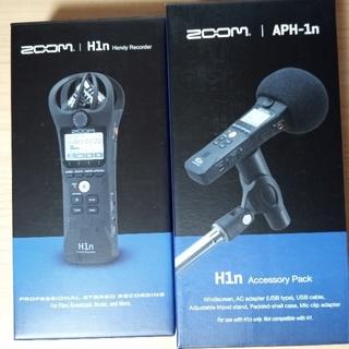 ズーム(Zoom)のzoom h1n レコーダー(マイク)
