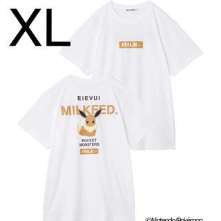ミルクフェド(MILKFED.)のミルクフェド イーブイTシャツ(Tシャツ(半袖/袖なし))