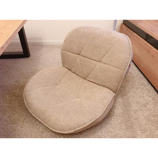 ベルメゾン(ベルメゾン)の【achasanta38様】ベルメゾン コンパクトリクライニング座椅子(座椅子)