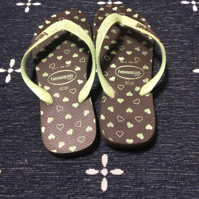 havaianas(ハワイアナス)のハワイアナス ビーサン ビーチサンダル 37-38  レディースの靴/シューズ(ビーチサンダル)の商品写真