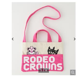 RODEO CROWNS WIDE BOWL - ロデオクラウンズ KIDS RODDY BAG ピンク