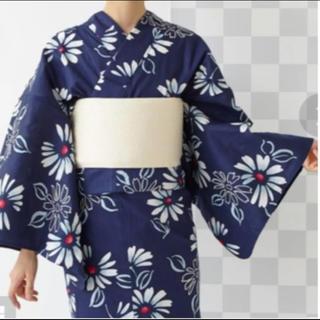ふりふ - ふりふ 紺色の浴衣・半幅帯セット 2019年発売