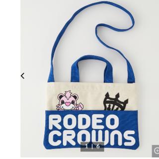 RODEO CROWNS WIDE BOWL - ロデオクラウンズ KIDS RODDY BAG ブルー