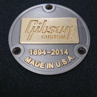 ギブソン(Gibson)の送料無料 ヒスコレ gibson custom shop バックプレート(エレキギター)