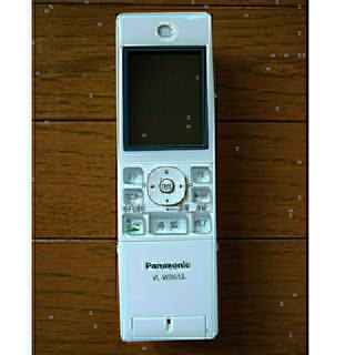 パナソニック(Panasonic)のpanasonic  VL-WD612 ワイヤレスモニター子機【中古品】(防犯カメラ)