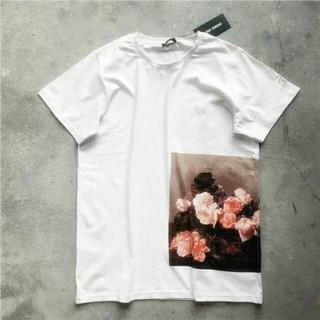 ラフシモンズ(RAF SIMONS)のRAF 18SS SIMONS NEW ORDER ホワイト Tシャツ(Tシャツ/カットソー(半袖/袖なし))
