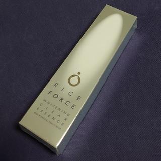 ライスフォース(ライスフォース)の新品未開封 ライスフォース ホワイトニングクリアエッセンス 薬用美白美容液RF(美容液)