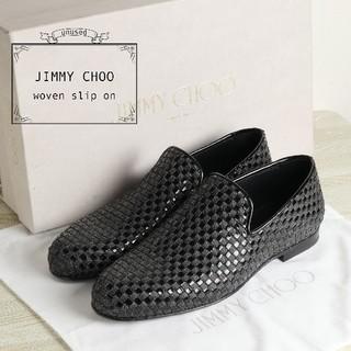 ジミーチュウ(JIMMY CHOO)の未使用 JIMMY CHOO ジミーチュウ 26cm スリッポン シューズ 靴(スリッポン/モカシン)