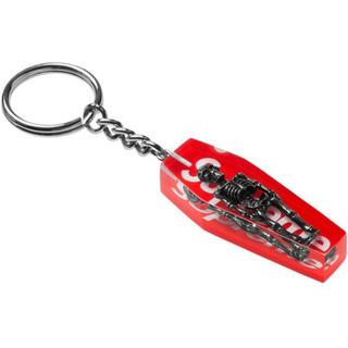 Supreme - Supreme skeleton Keychain  red キーホルダー