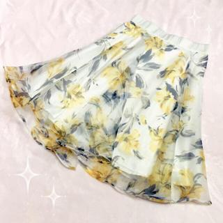 アールディールージュディアマン(RD Rouge Diamant)の新品タグ付き☆RD Rouge Diamant スカート(ひざ丈スカート)