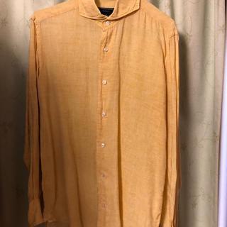 オリアン(ORIAN)のオリアン リネンドレスシャツ S(シャツ)