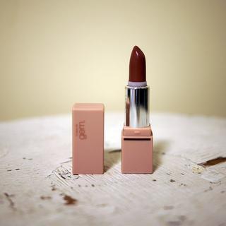 スピックアンドスパン(Spick and Span)のgemini lip stick  l-101 シアーブラウン(口紅)