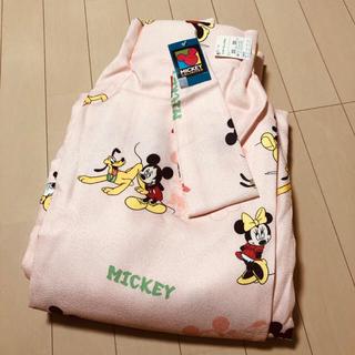 ディズニー(Disney)のミッキー 新品未使用 カーテン 布はぎれとしても リメイク 1枚(カーテン)