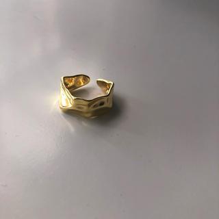 ミラオーウェン(Mila Owen)のSALE✴︎プレートリング ゴールド シルバー(リング(指輪))