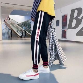 グッチ(Gucci)のトラックパンツ ジョガーパンツ ラインパンツ テーパード ジャージ GUCCI(その他)