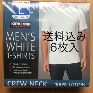 コストコ(コストコ)の【送料込】6枚入り コストコ  Tシャツ Lサイズ(Tシャツ/カットソー(半袖/袖なし))