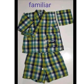 ファミリア(familiar)のfamiliar 甚平80cm(甚平/浴衣)