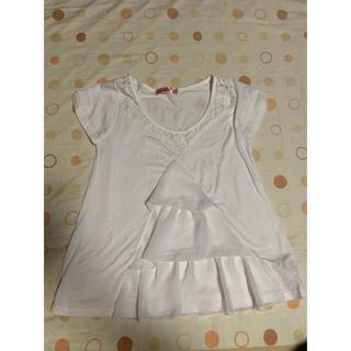 アンクルージュ(Ank Rouge)のAnk Rouge 白Tシャツ(Tシャツ(半袖/袖なし))