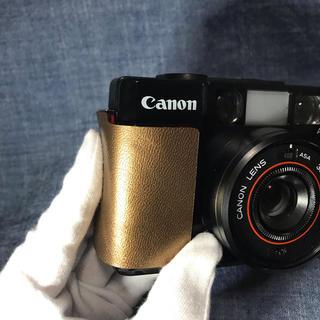 キヤノン(Canon)のキヤノン AF35M 初代オートボーイ用 本革グリップオーバーカバー(フィルムカメラ)