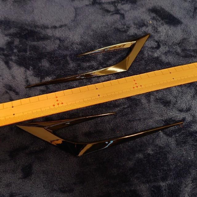 ダミーダクト フェンダーアクセント 自動車/バイクの自動車(汎用パーツ)の商品写真
