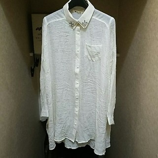 ブージュルード(Bou Jeloud)のBou Jeloud ★ 二重襟 ロングライフシャツ(シャツ/ブラウス(長袖/七分))