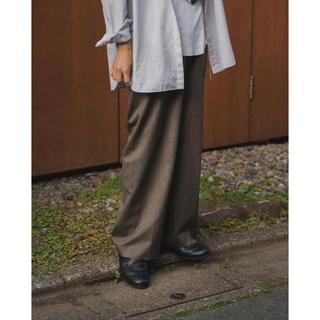 サンシー(SUNSEA)のSUNSEA SNM4 wide straight pants(スラックス)