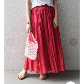 シップスフォーウィメン(SHIPS for women)のカージュ  カラーマキシスカート (ロングスカート)