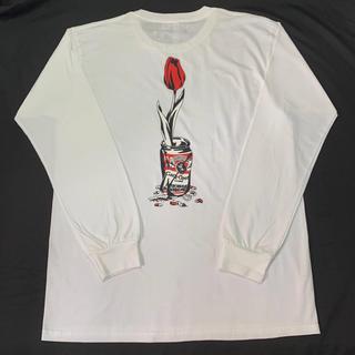 アフターベース(AFTERBASE)のwasted youth tee ロンT 長袖Tシャツ ホワイト XL(Tシャツ/カットソー(七分/長袖))