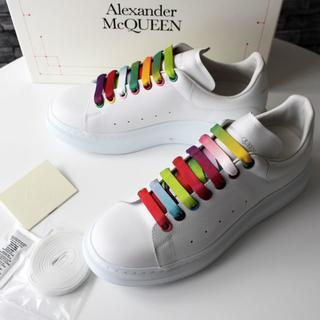 アレキサンダーマックイーン(Alexander McQueen)の新品 2020SS ALEXANDER MCQUEEN オーバーサイズスニーカー(スニーカー)
