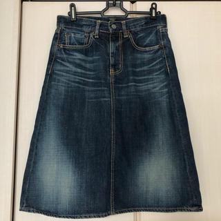 オムニゴッド(OMNIGOD)のドミンゴ オムニゴッド デニム スカート 0(ひざ丈スカート)