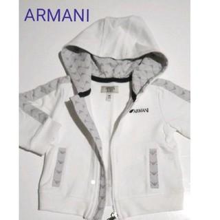 アルマーニ(Armani)の【美品(フランス正規店購入)】ARMANI パーカー 62cm(シャツ/カットソー)