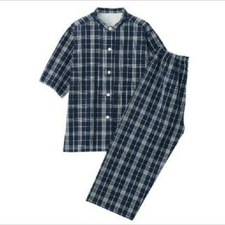 ムジルシリョウヒン(MUJI (無印良品))の無印良品 脇に縫い目のないサッカー織り半袖パジャマ(パジャマ)