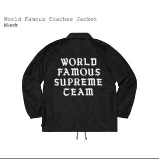 Supreme - 【L】SUPREME World Famous Coaches Jacket