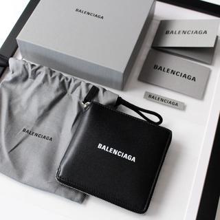 バレンシアガ(Balenciaga)の新品 BALENCIAGA ラウンドジップ 財布 小銭入れ付き(折り財布)