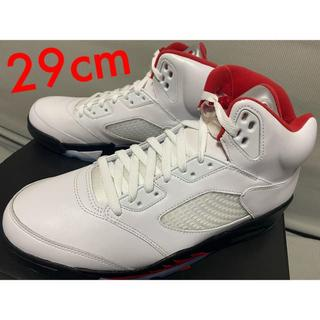 29CM NIKE AIR JORDAN 5 RETRO OG FIRE RED(スニーカー)
