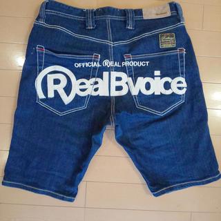 リアルビーボイス(RealBvoice)のRealBvoice ショートジーパン 30インチ(ショートパンツ)