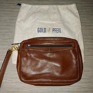 ゴールドファイル(GOLD PFEIL)の【GOLD PFEIL】 セカンドバッグ クラッチ ドイツ製(セカンドバッグ/クラッチバッグ)