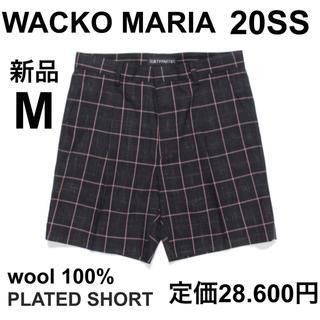 ワコマリア(WACKO MARIA)のM 新品 WACKOMARIA 20SS ウール ショート パンツ(ショートパンツ)