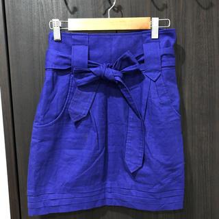 インパクティスケリー(Inpaichthys Kerri)のinpaichthys kerri  アオムラサイキ色のスカート Sサイズ(ミニスカート)