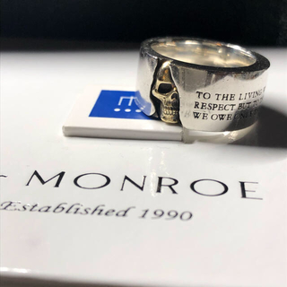 ドクターモンロー(Dr.MONROE)のDr.MONROE silver×k18 21号 リング ドクターモンロー (リング(指輪))