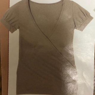 ディーエイチシー(DHC)のDHC カシュクールカットソー(カットソー(半袖/袖なし))