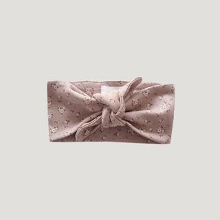 こどもビームス - 新品 Jamie Kay 花柄ヘアバンド ベッド くすみピンク 赤ちゃん ベビー